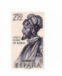 Sellos del Mundo : Europa : España : Vasco Nuñez de Balboa