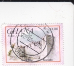 Stamps Ghana -  Fort William - Anomaba