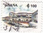 Sellos de Africa - Ghana -  Castillo de Cape Coats