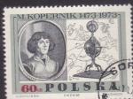 Stamps Poland -  Nicolas Kopernico 1473-1973-500 aniversario de su nacimiento