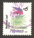 Sellos del Mundo : Asia : Filipinas : 2338 - Flor Anahaw