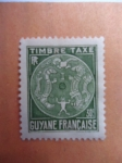 Stamps : America : French_Guiana :  Guyane française