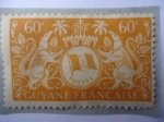 Stamps : America : French_Guiana :  Poste Guyane Française.