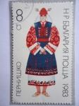 Stamps : Europe : Bulgaria :  Ytaje típico de Pernishchko