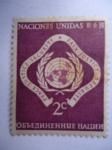 Stamps : America : ONU :  Naciones Unidas-ONU- Sede New York