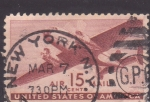Stamps United States -  Avión Bimotor