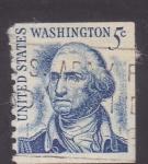 Sellos de America - Estados Unidos -  Presidente Washington