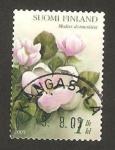 Stamps Finland -  Flor