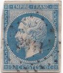 Sellos del Mundo : Europa : Francia : 1853/60