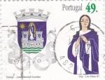 Stamps Portugal -  Escudo de FARO