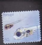 Stamps Portugal -  Larva de Dorada   -Expo-98