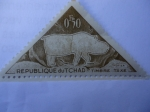 Stamps of the world : Chad :  Arte Ruspetre- Republique du Tchad-Timbre taxe-
