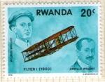 Sellos del Mundo : Africa : Rwanda : Flyer