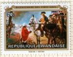 Sellos del Mundo : Africa : Rwanda : Biocentenario independencia EE.UU.