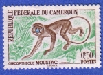 Stamps : Africa : Cameroon :  Cercopitheque Moustac