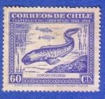 Sellos de America - Chile -  Centenario del libro de Gay