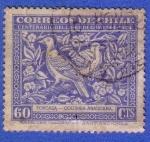 Stamps Chile -  Centenario del libro de Gay