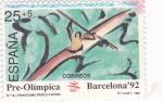 Stamps Spain -  PRE-OLÍMPICA BARCELONA-92  (2)