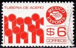 Stamps Mexico -  1078 - Exporta tubería de acero