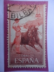 Stamps Spain -  Fiesta Nacional-Corrida de toros.
