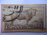 Sellos de Europa - España -  Ed:1254- Toro de Lidia.