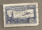 Stamps France -  Avión