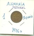 monedas de Europa - Alemania -  ALEMANIA FDERAL