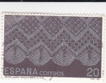 Sellos de Europa - España -  ARTESANÍA ESPAÑOLA ENCAJES  (2)