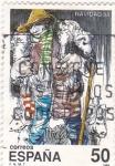 Stamps Spain -  NAVIDAD-88   (2)