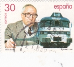 Stamps Spain -  TALGO ACTUAL    (2)