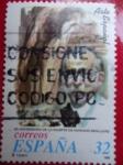 Stamps Spain -  3502- Arte Español- 50 Aniversario de la Muerte de Mariano Benlliure.-¨Soplo de Vida¨