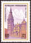 Sellos de Africa - Madagascar -  ESPA�A - Ciudad hist�rica de Toledo