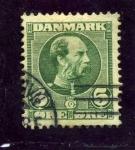 Sellos de Europa - Dinamarca -  Christian IX