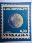 Sellos de America - Venezuela -  X Aniversario del Planetario Humboldt. La Luna.