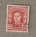 Stamps Oceania - Australia -  Rey Jorge VI