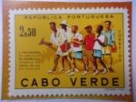 Sellos de Europa - Portugal -  Republica Portuquesa- Cabo Verde