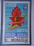 Stamps Asia - Mongolia -  Mongolia - 50° Aniversario -1925-1975