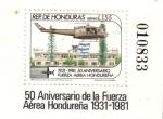 Stamps : America : Honduras :  Aniversario de la FAH 1931-1981