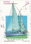 Stamps Spain -  BARCOS DE EPOCA-(GIRALDA)    (2)