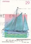 Stamps Spain -  BARCOS DE EPOCA (SALTILLO)     (2)