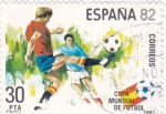 Stamps Spain -  COPA MUNDIAL DE FUTBOL ESPAÑA-82    (2)