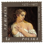 Stamps : Europe : Poland :  Pinturas del pintor flamenco Peter Paul Rubens (1577-1640)