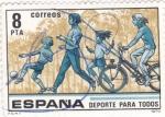Stamps Spain -  DEPORTE PARA TODOS   (2)