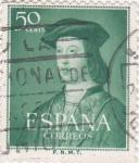 Sellos de Europa - España -  V CENTENARIO DEL NACIMIENTO DE FERNÁNDO EL CATÓLICO   (2)