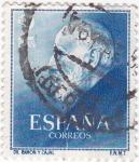 Stamps Spain -  SANTIAGO RAMON Y CAJAL   (2)