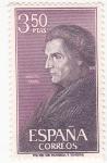 Sellos de Europa - España -  JOSÉ DE ACOSTA- Personaje español  (2)