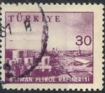 Stamps : Asia : Turkey :  TURQUIA SCOTT_1448.01 REFINERÍA DE GASOLINA, BATMAN. $0.25