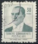 Stamps : Asia : Turkey :  TURQUIA SCOTT_1529 KEMAL ATATÜRK. $0.25