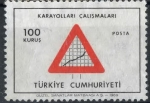 Stamps Turkey -  TURQUIA SCOTT_1811 SEÑAL DE TRAFICO, CONSTRUCCION DE CARRETERAS. $0.20