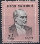 Stamps : Asia : Turkey :  TURQUIA SCOTT_1836 KEMAL ATATÜRK. $0.2